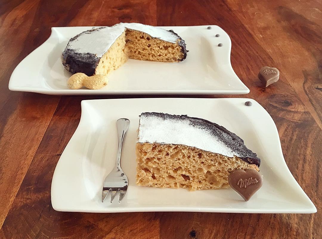 Erdnussbutter Doppel Schoko Kuchen Fitandsoulfood