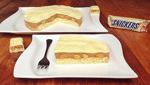 Snickers White Kuchen