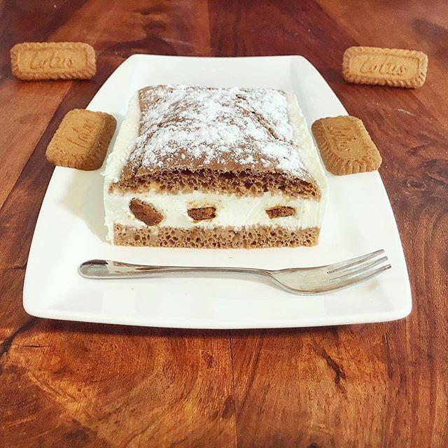 Lotus Biscoff Spekulatius Karamell Kuchen