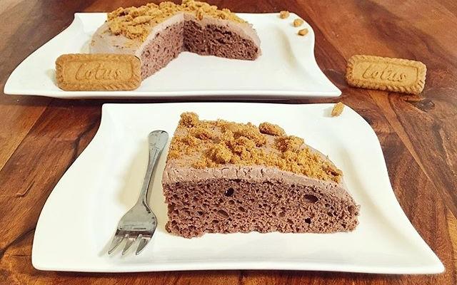 Doppel Schoko Lotus Biscoff Spekulatius Kuchen