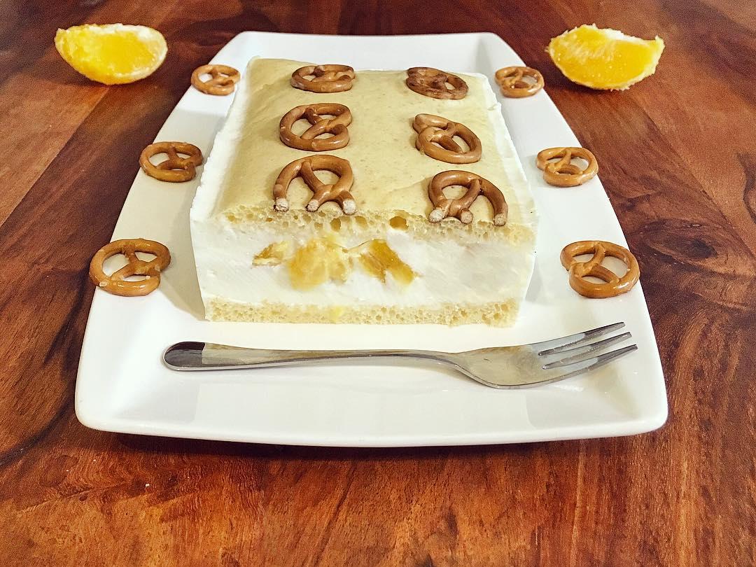 Brezel Mandarinen Kuchen