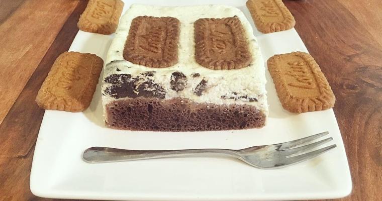 Oreo Lotus Biscoff Cheesecake